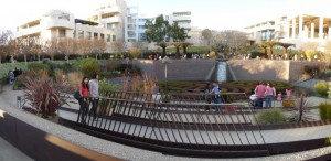 At Getty Center