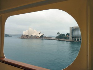 Sydney Opera House from the Rotterdam