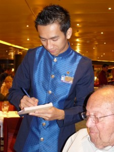 Tizar, Our Waiter