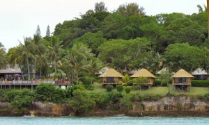 Resort on Island Opposite Port Vila