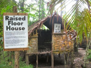 Traditional Raised Hut