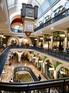 Interior of Queen Victoria Building