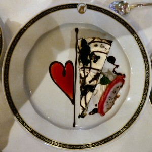One of the St. Valentine's Day Desserts