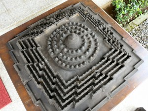 Scale Model of Borobudur
