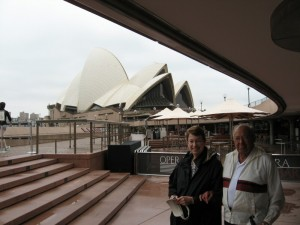 John and Janice in Front of the SOH