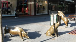Public Art in Adelaide Arcade