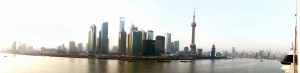 Looking Across the Huangpu River to the Pudong New District
