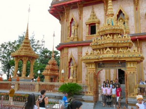 A Temple at Wat Chalong