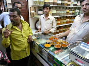 Buying Spices in Crawford Market