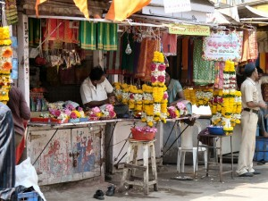 Vendors Outside the Temple