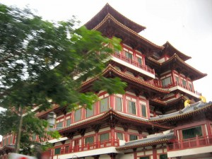 Building in Old Chinatown