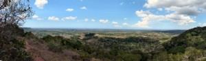 View From Shimba Hills Toward the Indian Ocean